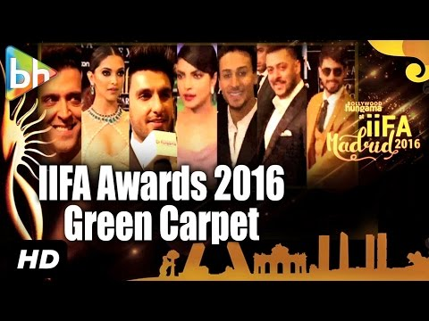 STAR-STUDDED IIFA Awards Green Carpet, Madrid