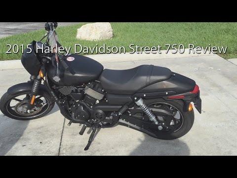 2015 Harley Davidson Street 750 Motorcycle Review