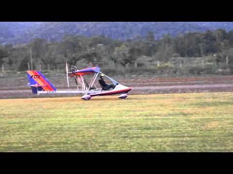 ULTRALEVE FOX V4 DECOLAGEM CURTA SHORT TAKE OFF FOX V4 ULTRALIGHT BRAZIL