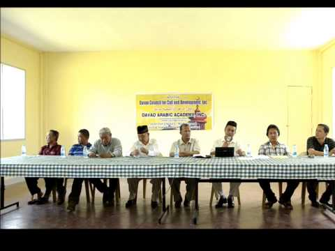 WIFAQ & DAVAO ARABIC ACADEMY, INTRODUCTION ASSEMBLY 2013