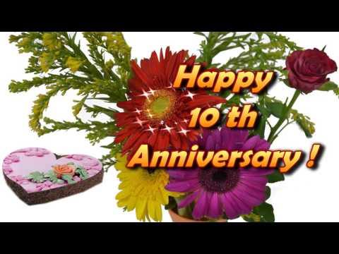Happy 10th anniversary cards m4hsunfo