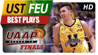 UAAP 78 Finals: Kevin Ferrer explodes with 6 3-pointers in the 3rd Quarter!