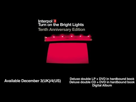 Interpol - Obstacle 1 (Live @ The Troubadour, 2002)
