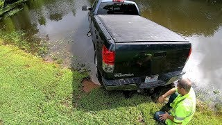 Rotator Water Rescue!!!  Silly Toyota...Tundras Can't Swim