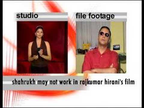 Shahrukh may reject Rajkumar Hirani's film