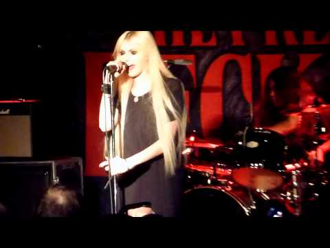 "The Pretty Reckless (Taylor Momsen) -""Zombie"" Live - Seattle, WA - 03-17-12"