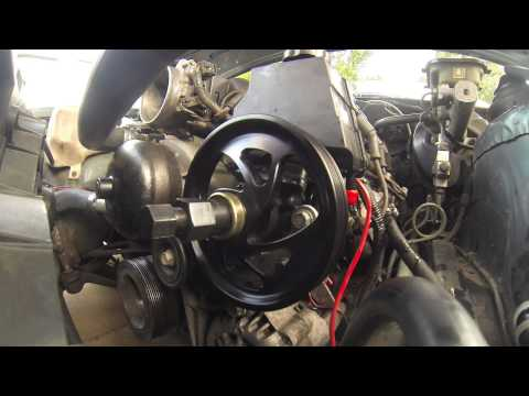 "How To"" LS1 Power Steering Pulley & Pump Remove & Install - Turn One"