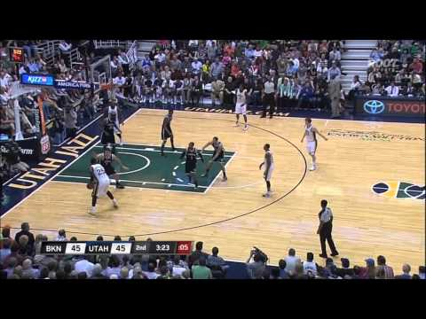 Complete Jazz highlights vs. Brooklyn Nets HD 3-31-13