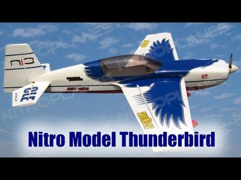Unboxing: Nitro Model Thunderbird 1860mm RC Plane