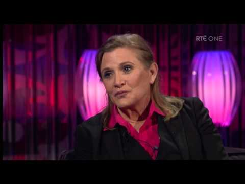 Carrie Fisher on the infamous Star Wars Bikini   The Saturday Night Show   RTÉ One