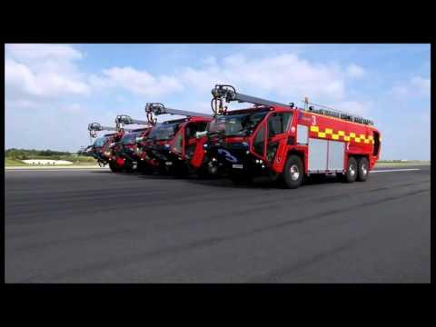 Stora Maskiner - Brandbilar på flygplats
