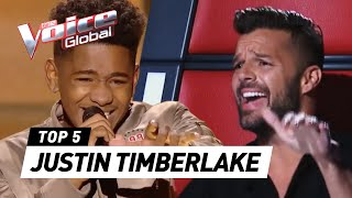 Download Lagu JUSTIN TIMBERLAKE in The Voice | The Voice Global Gratis STAFABAND