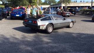 Delorean VIN 10697. Spec 1 exhaust.