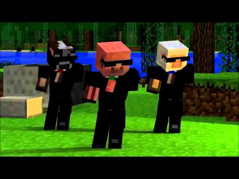 Party Rock Anthem-Minecraft Version Music Videos