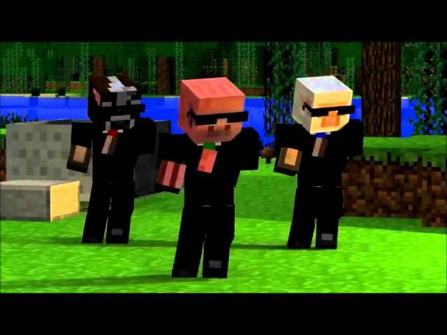 Party Rock Anthem-Minecraft Version