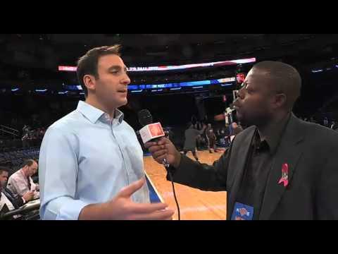 Ian Begley of ESPN New York talks 2014-2015 Knicks