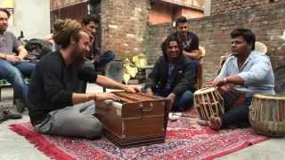 Harmonium Sazina in Ludhiana Punjab by Tahir Qawwal friends
