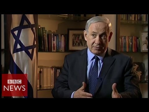 'Peace with Israel OR pact with Hamas' Netanyahu tells Abbas - BBC News