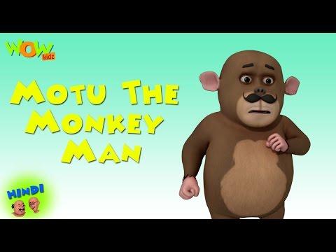 Motu The Monkey Man - Motu Patlu in Hindi WITH ENGLISH, SPANISH & FRENCH SUBTITLES thumbnail