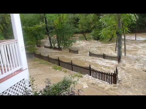 Clifton Flood Near Masonic Lodge