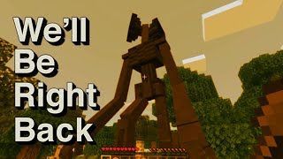 We'll Be Right Back in Minecraft SirenHead Compilation