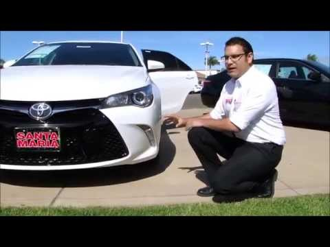2015 Toyota Camry XSE Review and test drive