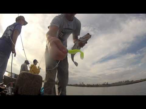 Louisiana Trout Fishing - GoPro