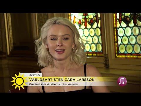 """Zara Larsson: """"Jag höll på att gråta varje dag"""" - Nyhetsmorgon (TV4)"""