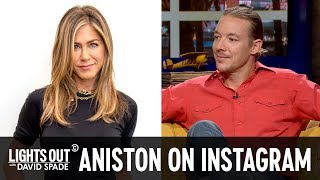 How to React to Jennifer Aniston's New Instagram (feat. Diplo)  - Lights Out with David Spade