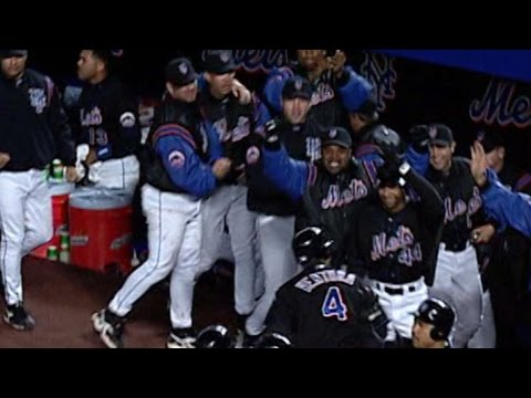 10/16/00: Todd Zeile hits a bases-clearing double to extend the Mets' lead to 6-0 over the Cardinals in Game 5 Check out http://m.mlb.com/video for our full archive of videos, and subscribe...