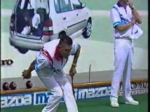 Lawn Bowls, Jack High 1997, Tony Alcock Vs Kelvin Kerkow
