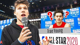 Interviewing NBA All Stars Funny Questions!