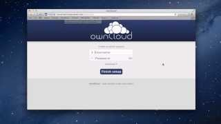 OwnCloud Part 1: Installation & Set Up