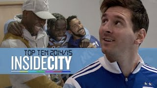 Messi, Boxing & Nutmegs | Top 10 Inside City Moments