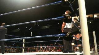 WWE Smackdown Torino 09.06.2011 - Wade Barrett vs Ezekiel Jackson - Intercontinental Title
