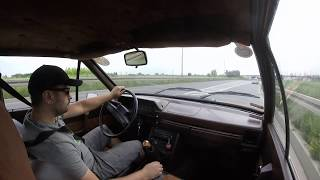 FSO Polonez 1.5X Coupe onboard