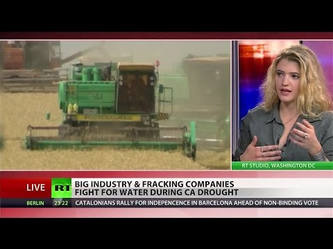 Fracking worsening California drought