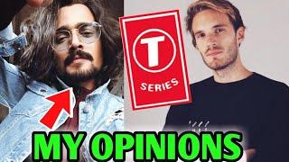 BB Ki Vines Talks About PewDiePie Vs T-Series Drama - His Opinions | Markiplier Saves PewDiePie! |