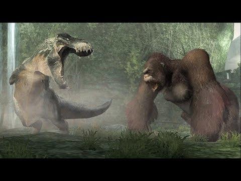 Gameplay King Kong King Kong vs t Rex Gameplay