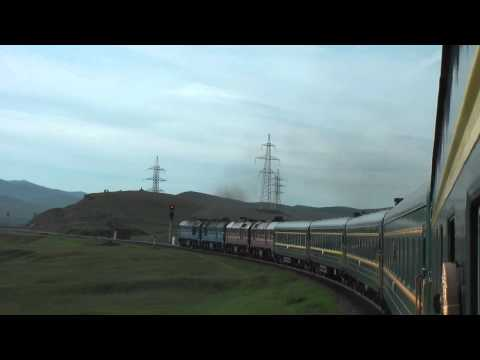 RUSSIA TOURISM | MONGOLIA TOURISM | Trans-Mongolian-Train | Crossing Mongolia by Train