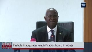 Fashola inaugurates electrification board in Abuja