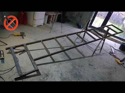 Подъемник-лестница, подъемник с платформой своими руками.