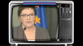 Ewa Kopacz chce dodać pytania do referendum Komorowski ją masakruje. Wujek Dobra Rada.