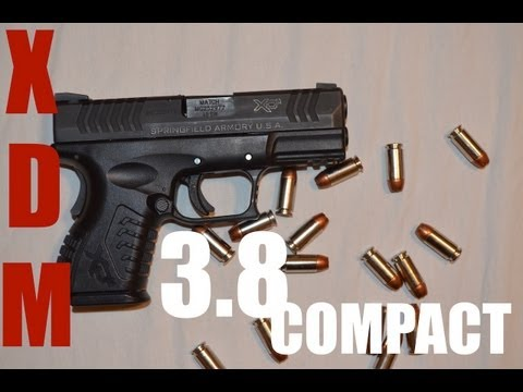 Review: Springfield XDm 3.8 Compact in 40 S&W
