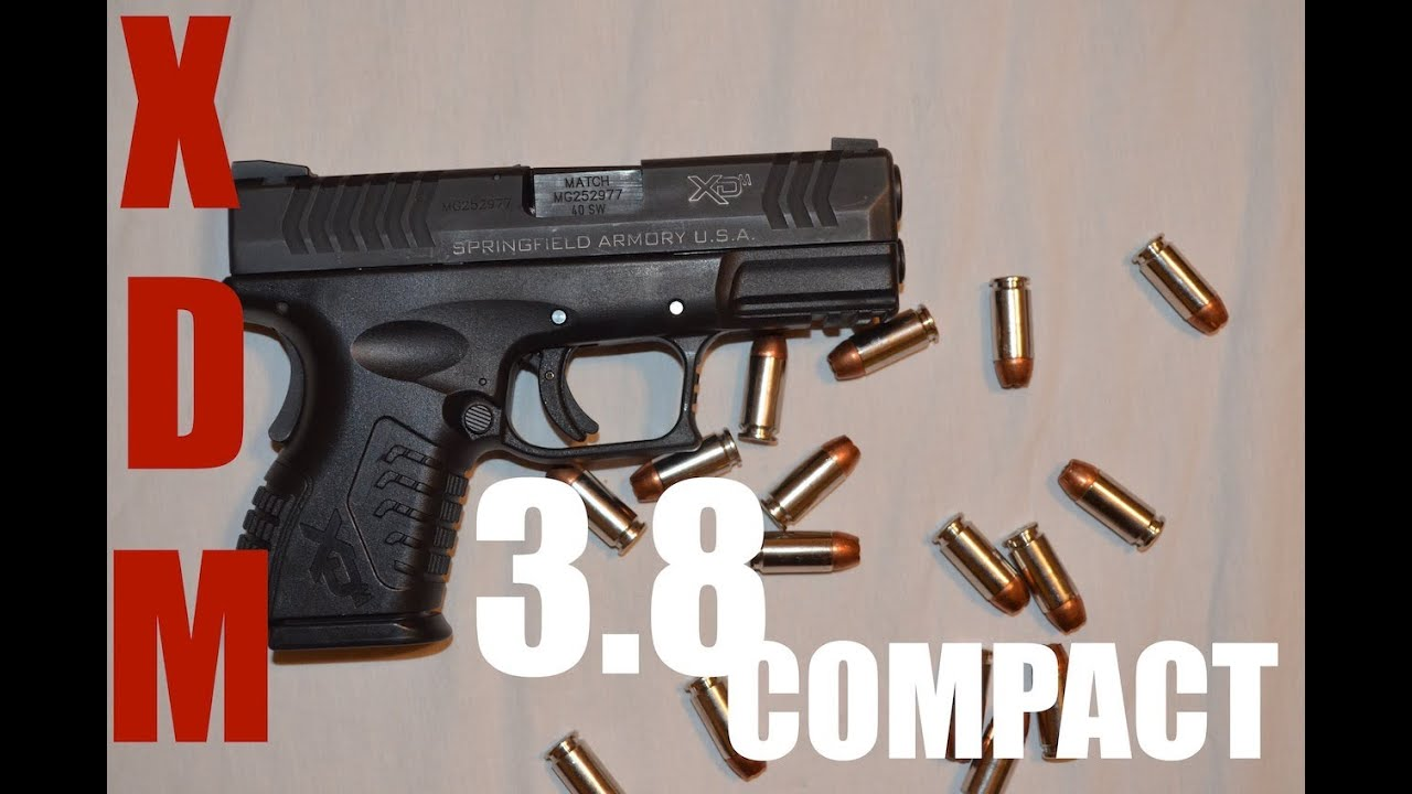 Xdm 3.8 Review Review Springfield Xdm 3.8