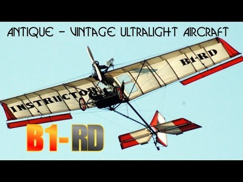 B1-RD, Robertson Aircraft's B1 RD antique ultralight vintage ultralight aircraft.