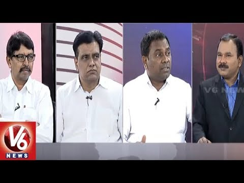 Special Debate On Karnataka Elections 2018 Exit Polls | Good Morning Telangana | V6 News