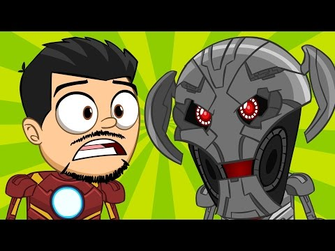 ANIMATED The Avengers 2: Age Of Ultron by Nachotoonz
