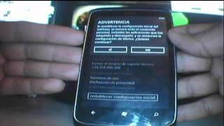 Como restablecer a la configuracin inicial (Hard Reset) a tu  Windows Phone