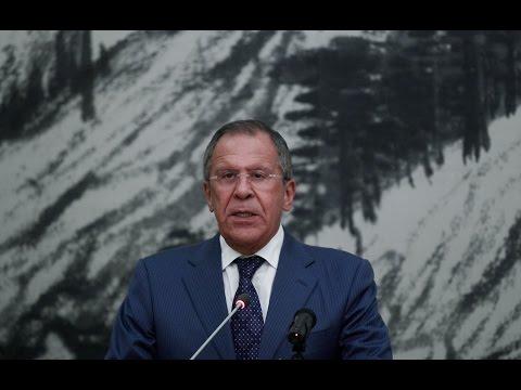 Serguéi Lavrov, canciller ruso, habla ante la ONU